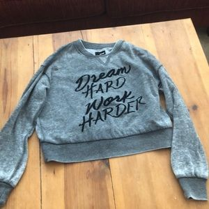 Gray sweatshirt from wet seal